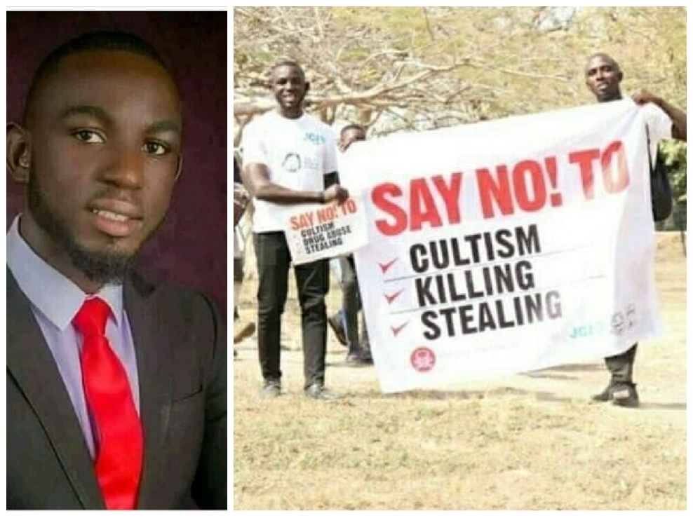 What Cultists Did To A Final Year Benue Varsity Student Who Campaigned About Their Activities In 2020