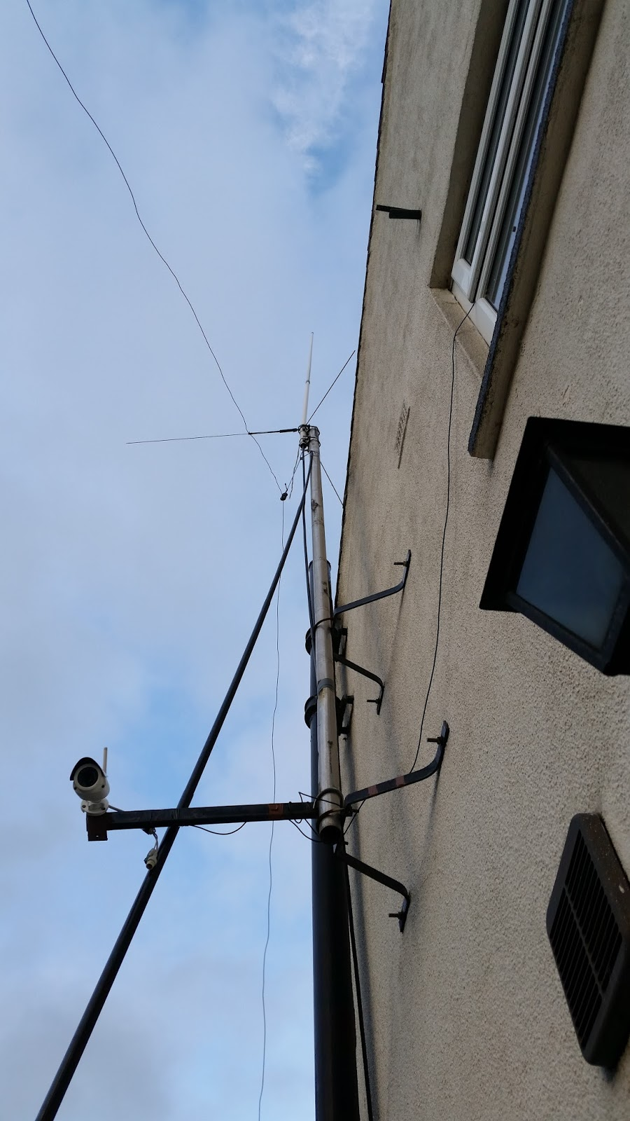 Connecting an AM or FM antenna