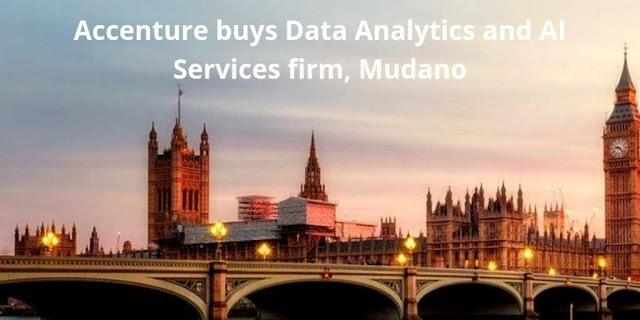 Accenture buys Data Analytics and AI Services firm, Mudano