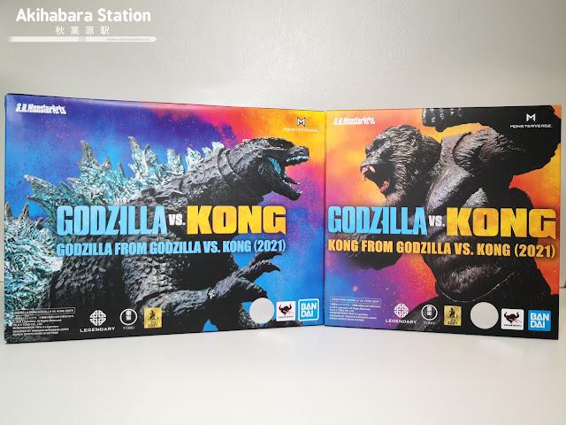 Review del S.H. MonsterArts Godzilla VS Kong (2021) - Tamashii Nations