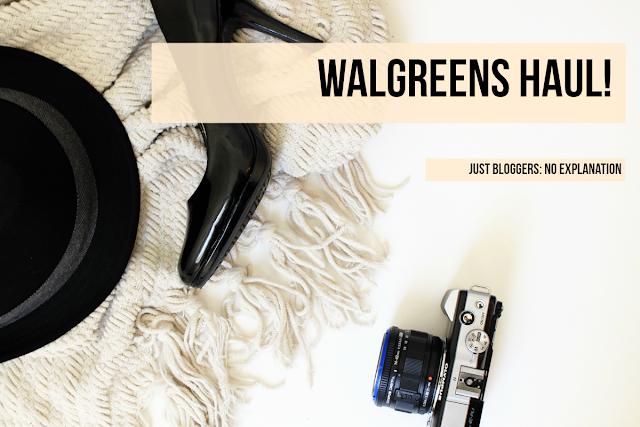 Walgreens Haul!