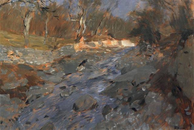 Исаак Ильич Левитан - Весна в Крыму (2). 1900