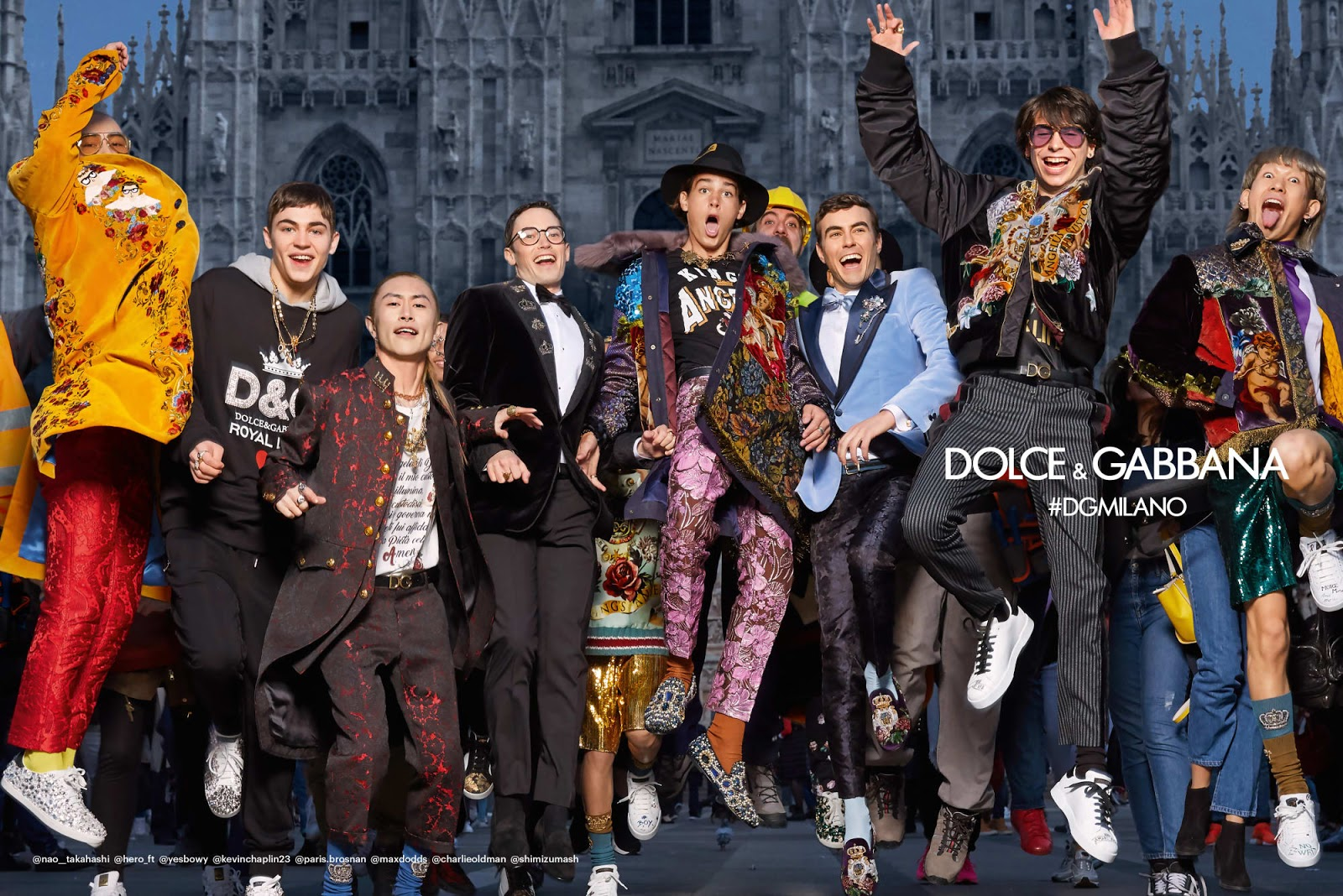 be6c849ca40 Dolce   Gabbana s Latest Campaign features Eclectic Mix of Fashion ...