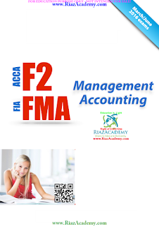 2016-ACCA-F2-NOTES - MANAGEMENT ACCOUNTING