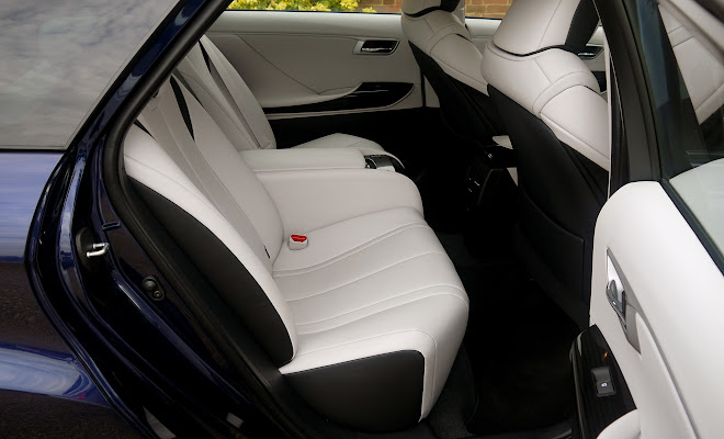 Toyota Mirai rear interior