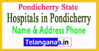 Hospitals in Pondicherry