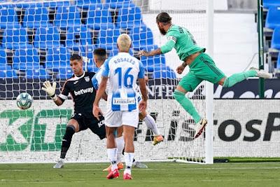 ملخص واهداف مباراة ريال مدريد وليجانيس (2-2) الدوري الاسباني