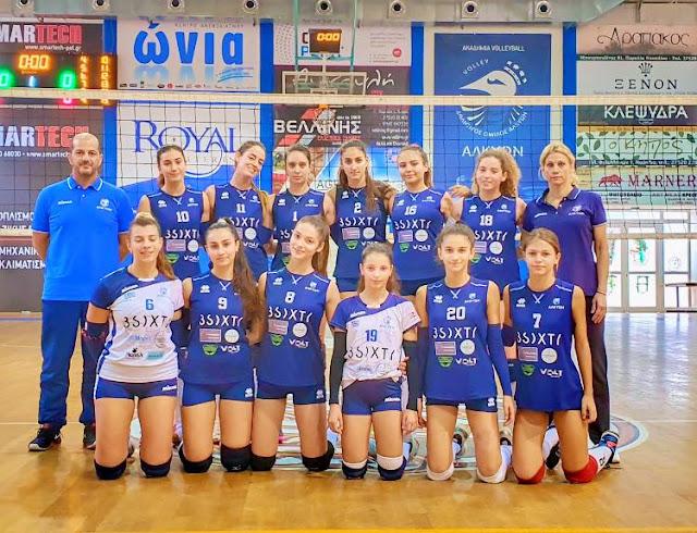 Αλκυών - Ερυθρός Αστέρας 1-3 για το πρωτάθλημα της Β εθνικής