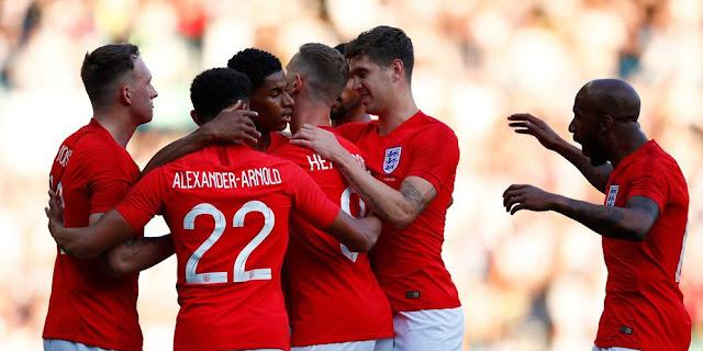 Video Cuplikan Gol Inggris vs Kosta Rika Skor Akhir 2-0 | Friendly Match 08 Juni 2018