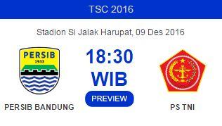 Persib Bandung vs PS TNI 9 Desember 2016