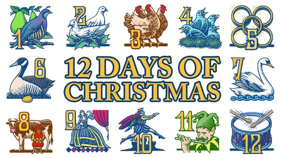 the tablescape this week celebrates the twelve days of christmas i have listed a little history regarding the meaning at the end of the blog