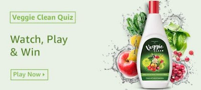 Amazon Veggie Clean Quiz Answers