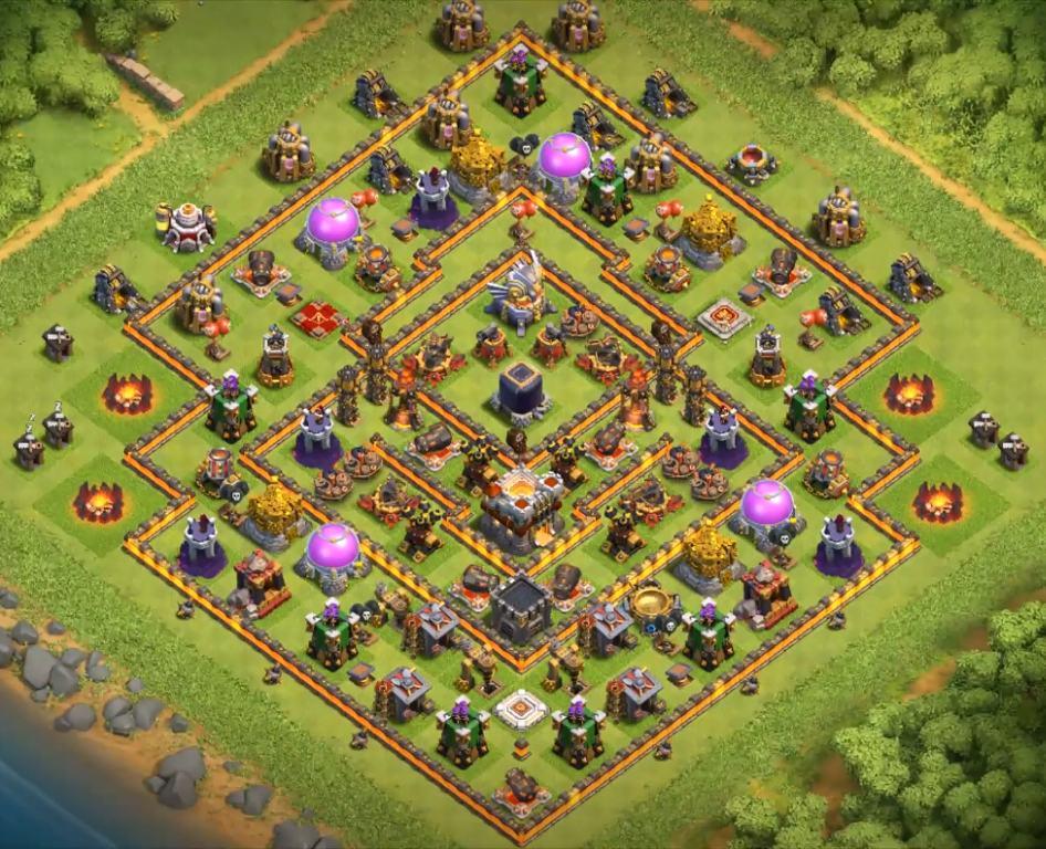 clash of clans town hall 11 farming village