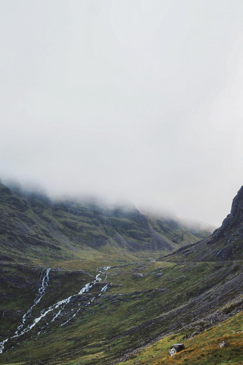 La vallée de Torridon dans les Highlands en Ecosse