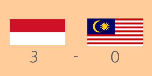 Come Back Timnas Indonesia lumat Timnas Malaysia skor 3-0