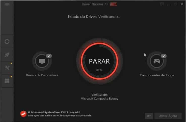 Driver Booster, instalar e atualizar drivers