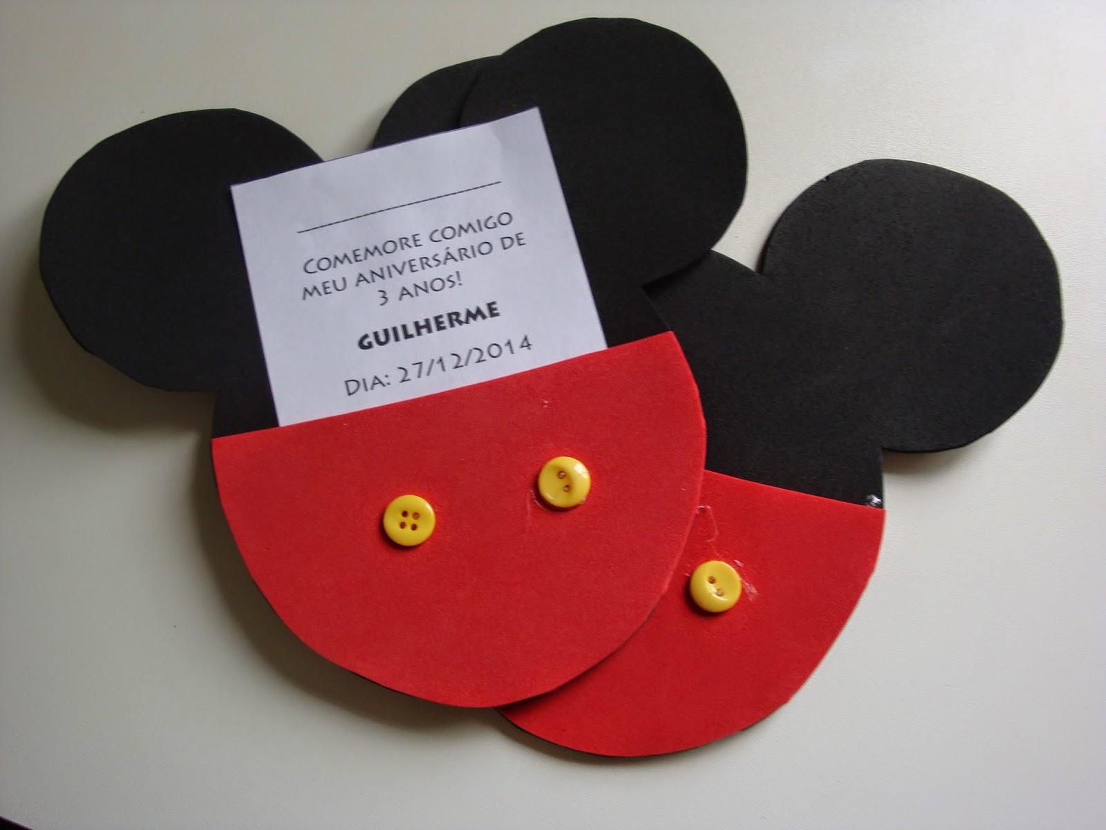 Decoração de Festa Infantil com tema do Mickey Mouse