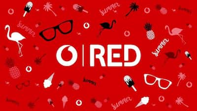 Vodafone red باقات