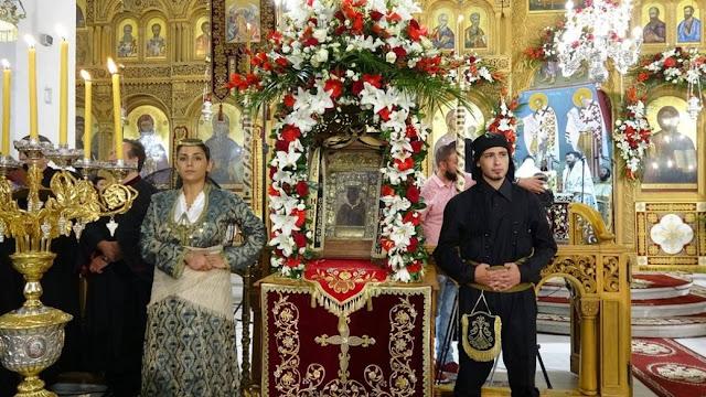 Παναγία Σουμελά: Με μάσκες, αποστάσεις και περιορισμένο κόσμο το προσκύνημα