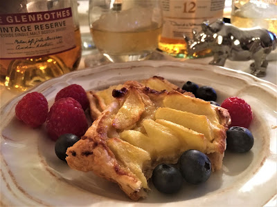 Tarta de manzana sin azúcar - Receta aprendida en la Escuela de Cocina Telva a partir de su Tarta de manzana - el gastrónomo - Whisky - The Balvenie - The Glenrothes - ÁlvaroGP - Content Manager