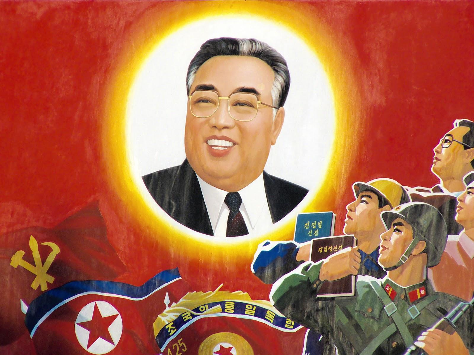 Corea del Norte celebró el centenario de su fundador, Kim il Sung