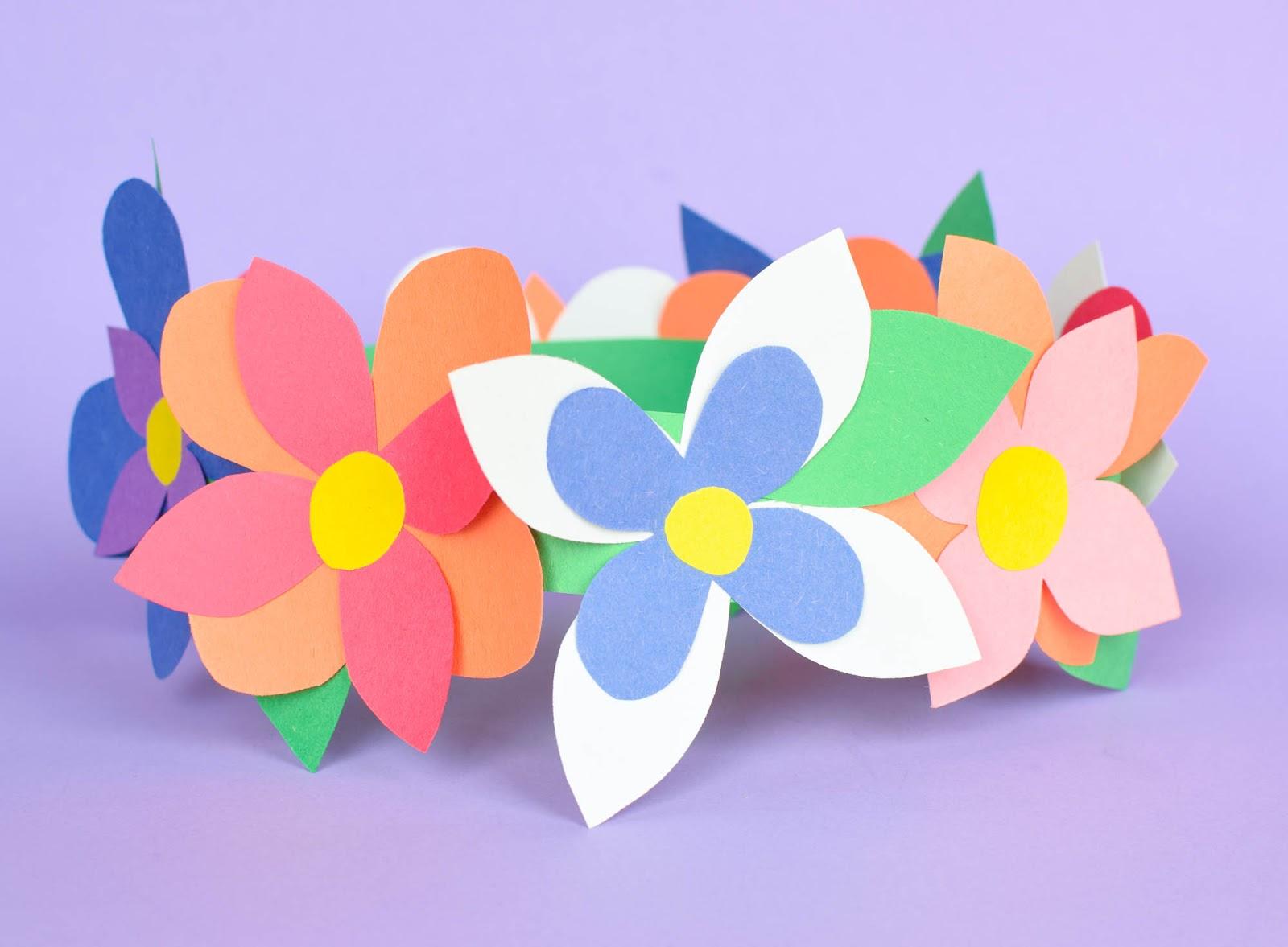 Flower Crown Spring Craft