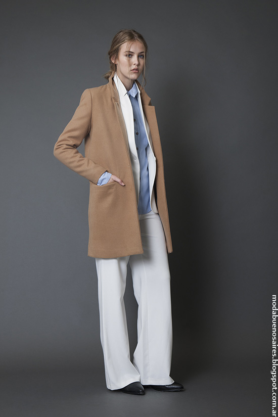 Sacos invierno 2016 moda mujer ropa. Moda invierno 2016.