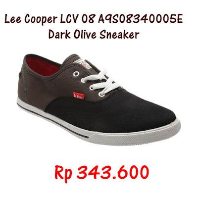 Lee Cooper LCV Dark Olive Sneaker
