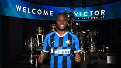 Victor Moses Resmi ke Inter Milan