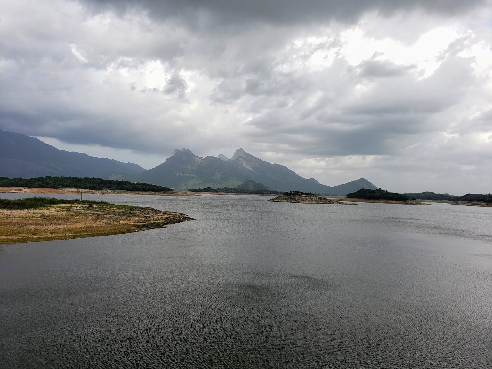 Reservoir at Malampuzha Dam