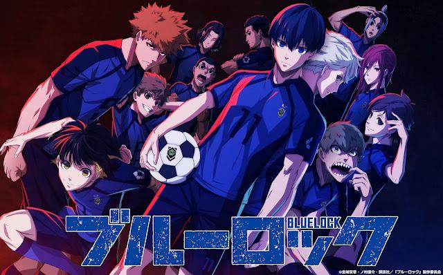 Anime Blue Lock Revela Primeiro Vídeo Promocional e Equipe de Produção