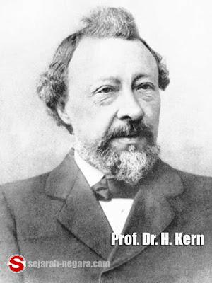 Foto Prof. Dr. H. Kern peneliti persebaran manusia