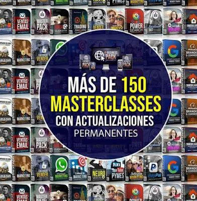 eBUSINESS PACK Curso - 150 masterclasses