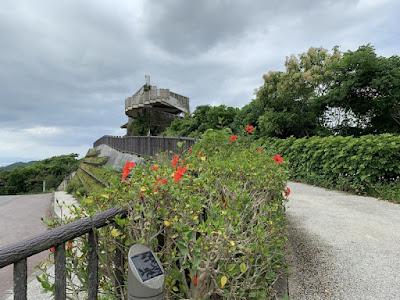 バンナ公園 エメラルドの海を見る展望台