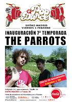 Concierto de The Parrots en Shoko