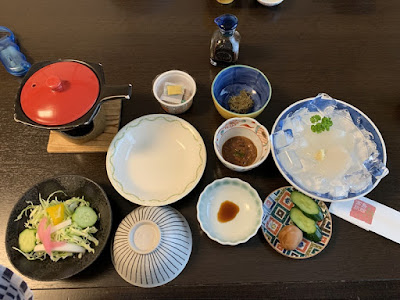 高島旅館 朝食