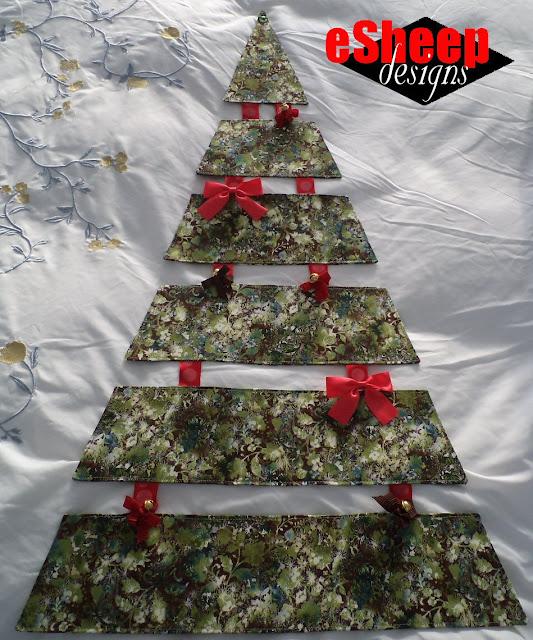 Hanging Christmas Tree by eSheep Designs