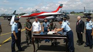 TNI AU Resmi Terima 24 Unit Pesawat Tempur F-16 dari Amerika Serikat