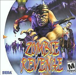 Zombie Revenge Sega Dreamcast horror game cover art
