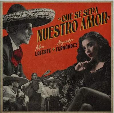 """""""Que se sepa nuestro amor"""": Mon Lferte estrena dueto junto al mexicano Alejandro Fernández"""