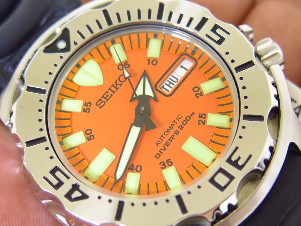 SEIKO DIVER ORANGE MONSTER FIRST GEN - SEIKO SKX781 - AUTOMATIC 7S26