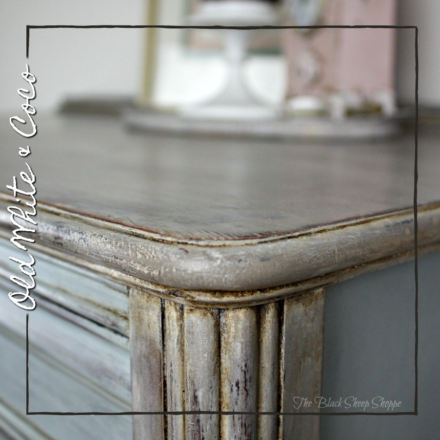 Old White and Coco chalk paint.