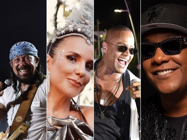 Carnaval em Salvador: Ivete Sangalo, Bell, Psirico e Léo Santana desfilam neste sábado na abertura oficial da folia — Foto: Arquivo Pessoal
