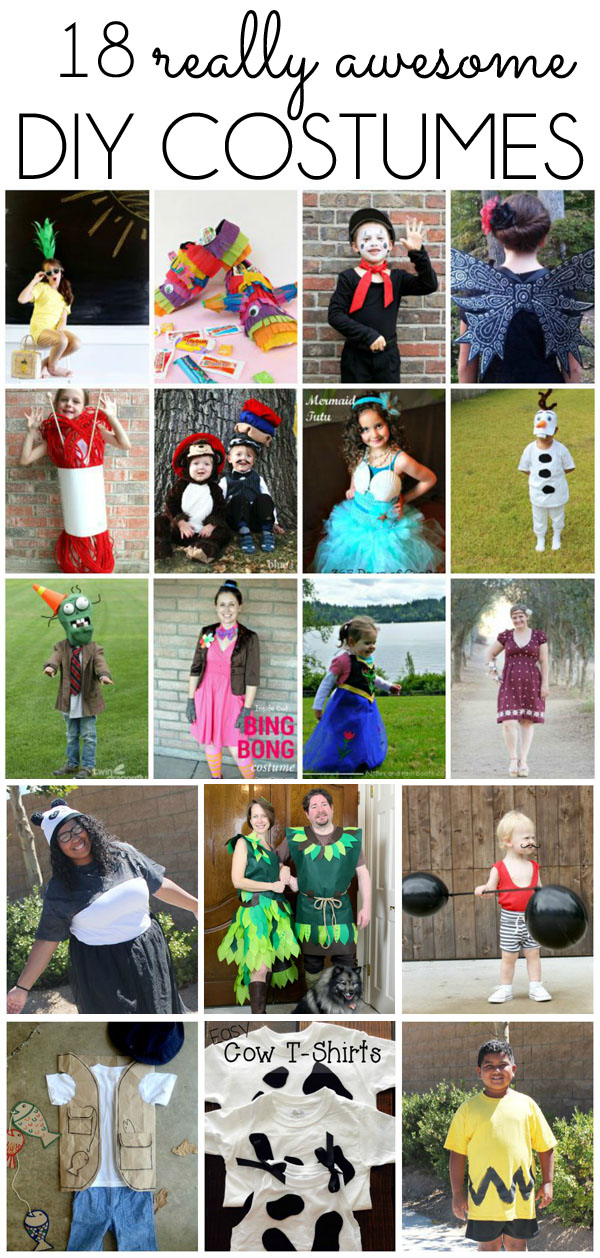 18 DIY Costume Ideas & seasonal style