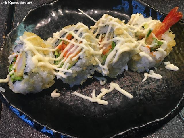 Uramaki de Sushi Zanmai en Tsukiji, Tokio