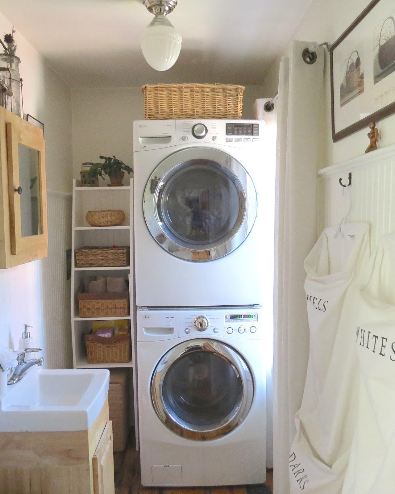 Teeny Tiny Laundry Room Solutions