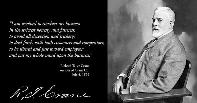 Crane Company 1855 | Pelopor Perusahaan Multi Bisnis Amerika