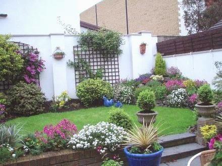Muebles y decoraci n de interiores hermosos jardines for Decoracion jardines pequenos frente casa