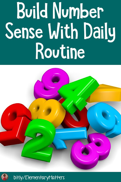 Build Number Sense With Daily Routine: There are several ways to build number sense in young students, without disrupting their daily routine. Here are some ideas.