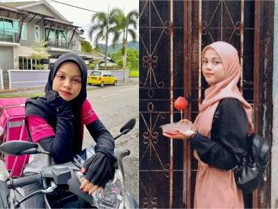 Viral Driver Pengantar Makanan Cantik, Netizen Ingin Pesan Sepaket Kasih Sayang